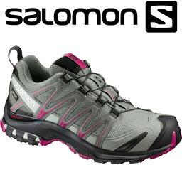 購物馬拉松點數最大的35倍的(8/5(星期六)20:00~)沙洛文戶外鞋女士Hiking Walking旅遊XA PRO 3D GTX L39333100 Salomon 17SS