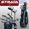 US direct flight Calloway strike rata plus club set 11 + caddie bag Strata Plus 16-Piece Men' s Set