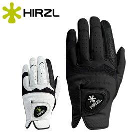 【5点までメール便送料無料】【雨や汗でも滑らない】 ハーツェル ゴルフグローブ HIRZL TRUST HYBRID Plus 右利き(左手用)