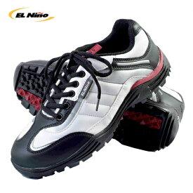 【あす楽対応】EL NINO(エルニーニョ)EL-01 スパイクレス ゴルフシューズ