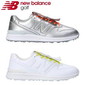 【あす楽対応】ニューバランス ゴルフ WGS996 レディース ゴルフシューズ 2021モデル 日本正規品 スパイクレス シューレース