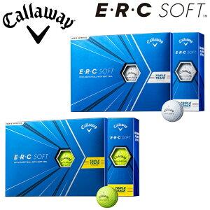 【あす楽対応】キャロウェイ ゴルフ ERC ソフト ゴルフボール 1ダース(12球入り) 2021モデル