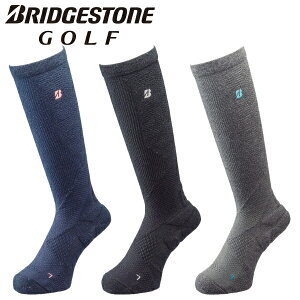 【メール便対応】ブリヂストン ゴルフ ハイパーソックス スパイラルホールド ハイソックス レディース 靴下 SOG151 2021モデル