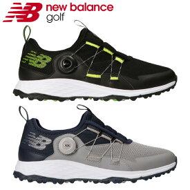 【あす楽対応】ニューバランス ゴルフ フレッシュ フォーム MGB4300 メンズ ゴルフシューズ 2021モデル 日本正規品 スパイクレス ボア Boa