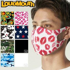 【メール便対応】ラウドマウス 3Dマスク 洗える水着素材 UVカット(UPF50+) 770920