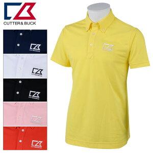 【あす楽対応】カッター&バック 半袖シャツ メンズ 春夏 ゴルフウェア CBT1503