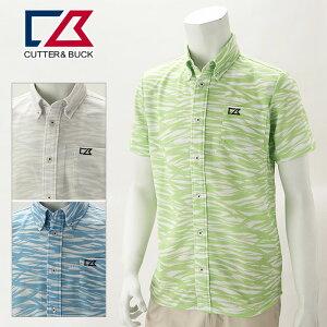 【あす楽対応】カッター&バック 半袖シャツ メンズ 春夏 ゴルフウェア CGMPJA40NK
