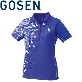 【メール便対応】ゴーセン ゲームシャツ レディース T1713-75