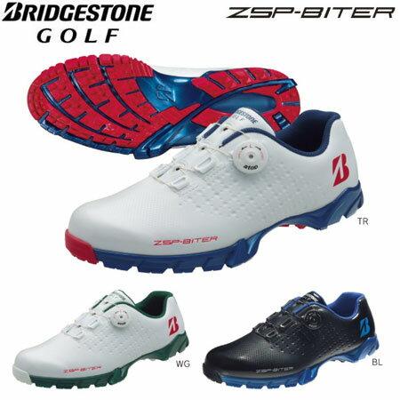ブリヂストンゴルフ ゴルフシューズ メンズ ゼロスパイク バイター SHG550 【あす楽対応】