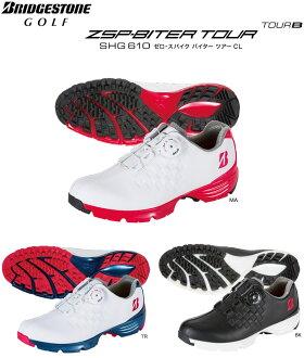 【あす楽対応】ブリヂストンゴルフゴルフシューズレディースゼロ・スパイクバイターツアーCLSHG6102016年モデル