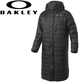 【あす楽対応】オークリー ゴルフウェア メンズ ロングコート 秋冬 OAKLEY ENHANCE WIND WARM LONG COAT 412631JP
