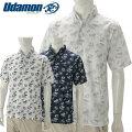 【あす楽対応】ユダマンメンズゴルフウェアボタンダウンシャツ半袖XUD-19022019春夏UdamonGOLF