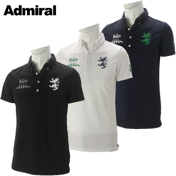 アドミラル ゴルフウェア メンズ THE BEATLES アビーロード BDシャツ ADMA766 2017秋冬