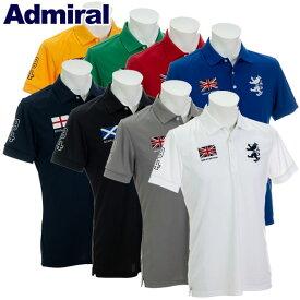 【あす楽対応】アドミラル ゴルフウェア メンズ 半袖 ポロシャツ ADMA833