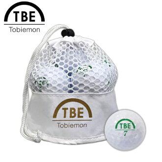 購物馬拉松點數最大的35倍的(8/5(星期六)20:00~)TOBIEMON飛衛門能飛行進入東西打高爾夫球的球網絲包標準2枚球1打(12球入)白公認球