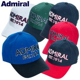 【あす楽対応】アドミラル ゴルフウェア キャップ ADMB820F 2019春夏 継続