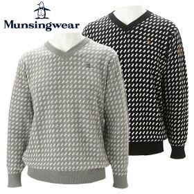 【あす楽対応】マンシングウェアゴルフウェアメンズセーターMGMMJL15Munsingwear2018秋冬30%OFF