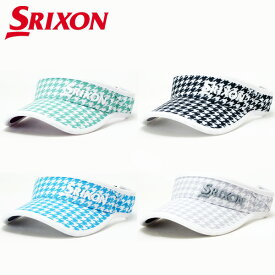 【あす楽対応】【数量限定モデル】スリクソン ゴルフ メッシュバイザー 帽子 レディース SWH9355L 2019モデル