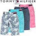 【送料無料】【あす楽対応】トミーヒルフィガー ゴルフウェア メンズ ショートパンツ ハーフパンツ THMA953 2019春夏