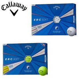 【あす楽対応】キャロウェイ ゴルフ E・R・C ソフト ゴルフボール 1ダース(12P) 2019モデル ERC