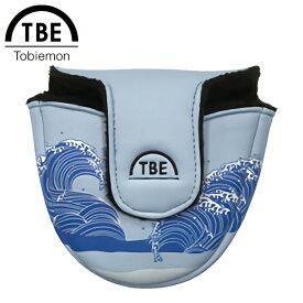 【あす楽対応】TOBIEMON 飛衛門 とびえもん ゴルフ パターカバー マレット型 T-MPC
