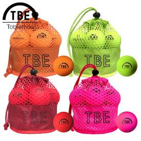 【あす楽対応】TOBIEMON 飛衛門 とびえもん ゴルフボール メッシュバッグ入り 蛍光マットカラーボール 2ピース 1ダース(12球入り) 公認球