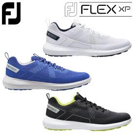 フットジョイ ゴルフ エフジェイ フレックス エックスピー メンズ ゴルフシューズ 2020モデル シューレース スパイクレス