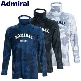 【あす楽対応】アドミラル ゴルフウェア メンズ タートルネックシャツ ADMA9B4 2019秋冬