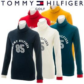 【あす楽対応】トミーヒルフィガー ゴルフウェア レディース 長袖タートルネックシャツ THLA884 秋冬