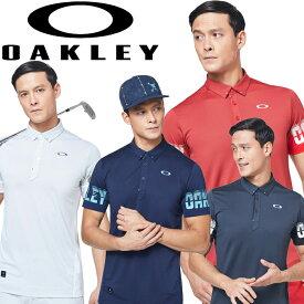 【メール便対応】【あす楽対応】オークリー ゴルフウェア 半袖シャツ SKULL SPLIT SLEEVE SHIRTS メンズ FOA400798 2020年モデル