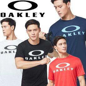 【メール便対応】【あす楽対応】オークリー トレーニングウェア 半袖Tシャツ ENHANCE QD SS TEE O BARK 10.0 メンズ FOA400809 2020年モデル