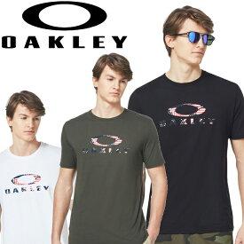 【メール便対応】【あす楽対応】オークリー トレーニングウェア 半袖Tシャツ USA FLAG ELLIPSE SS TEE メンズ FOA400252 2020年モデル