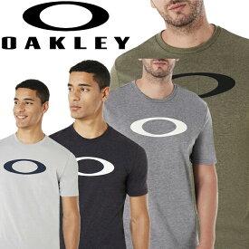 【メール便対応】【あす楽対応】オークリー トレーニングウェア 半袖Tシャツ O-BOLD ELLIPSE SS TEE メンズ 457132 2020年モデル