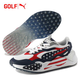 【あす楽対応】【期間限定】 プーマ ゴルフ RS-G USA 194259-01 メンズ ゴルフシューズ スパイクレス USAモデル