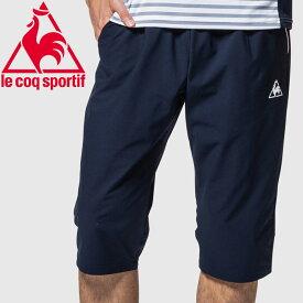 ルコック テニス 6分丈パンツ メンズ QTMNJD40ZZ-NVY