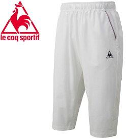 ルコック テニス 6分丈パンツ メンズ QTMNJD40ZZ-WHT
