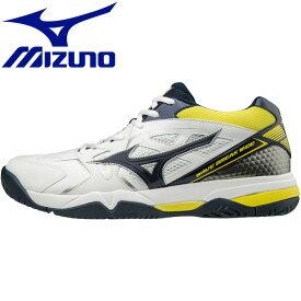 ミズノ ウエーブブレイク WIDE AC テニスシューズ メンズ レディース 61GA183014