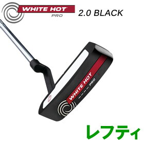 【あす楽対応】オデッセイホワイトホットプロ2.0ブラックパターレフティ2019年USAモデル