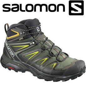 サロモン X ULTRA 3 WIDE MID GTX ハイキング&マルチファンクション シューズ メンズ L40129500
