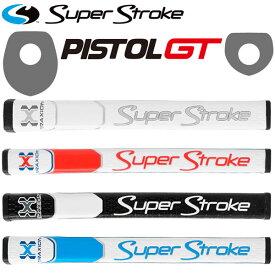 【あす楽対応】スーパーストローク トラクション ピストルGT グリップ パター用 Super Stroke Traxion PISTOL 2019 日本正規取扱品