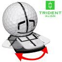 【あす楽対応】 トライデントアライン 可動式 ボールマーカー TRIDENT ALIGN BALL MARKER TABK1 USAモデル