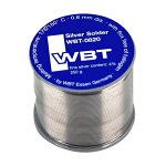 WBT-0820オーディオ用低温・極細はんだ(0.8mm)銀入り(4%含有)1m切り売り(メール便可)