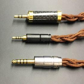 【送料無料】イヤホン交換用ケーブル特注品MMCX用Rpapsodio製ケーブル高純度銅線