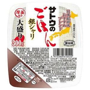 サトウ食品 サトウのごはん 銀シャリ 大盛り 300g×24個入