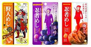UHA味覚糖 忍者めし アソート 10個セット(回復系エナジードリンク×4・巨峰×3・梅かつお×3)