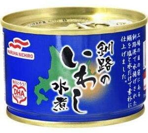 マルハニチロ 釧路のいわし水煮 150g×12個
