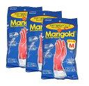 【メール便送料無料】マリーゴールド ゴム手袋 キッチングローブ Sサイズ Mサイズ Lサイズ