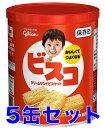 【まとめ買い】 江崎グリコ ビスコ 保存缶 30枚 × 5缶 <賞味期限5年>