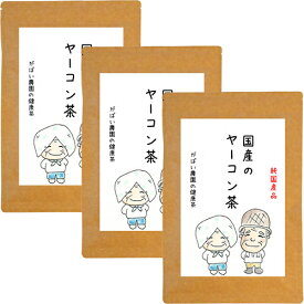 ヤーコン茶 3g×40包 【お得な3個セット】(ヤーコン茶 国産 ティーバッグ 送料無料 ダイエット 健康茶)