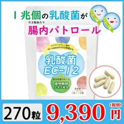 腸内パトロール「EC-12」乳酸菌〜270粒(約9ヶ月分)
